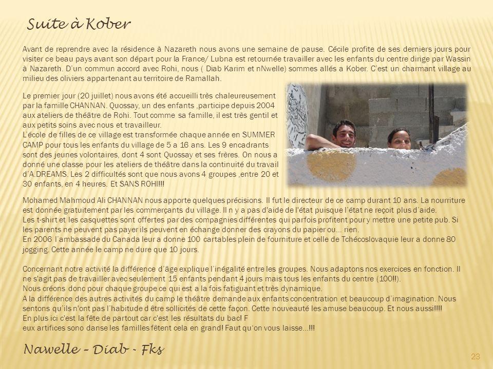 Suite à Kober
