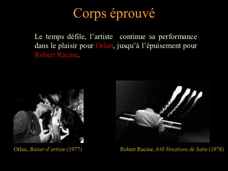 Robert Racine, 840 Vexations de Satie (1978)