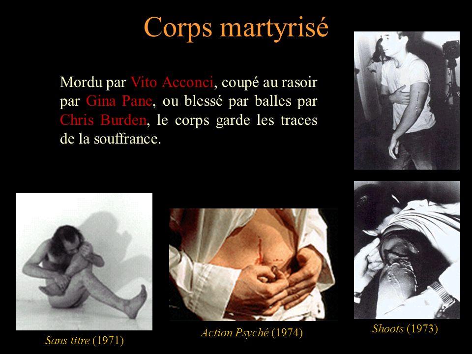 Corps martyrisé