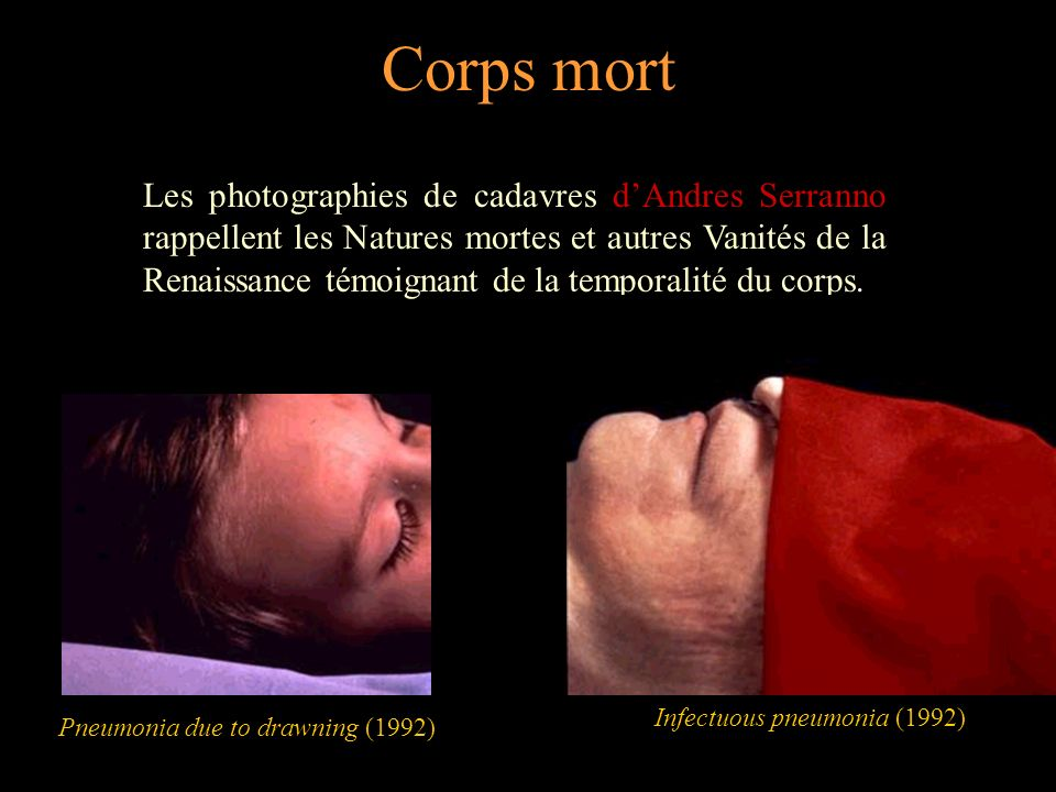 Corps mort