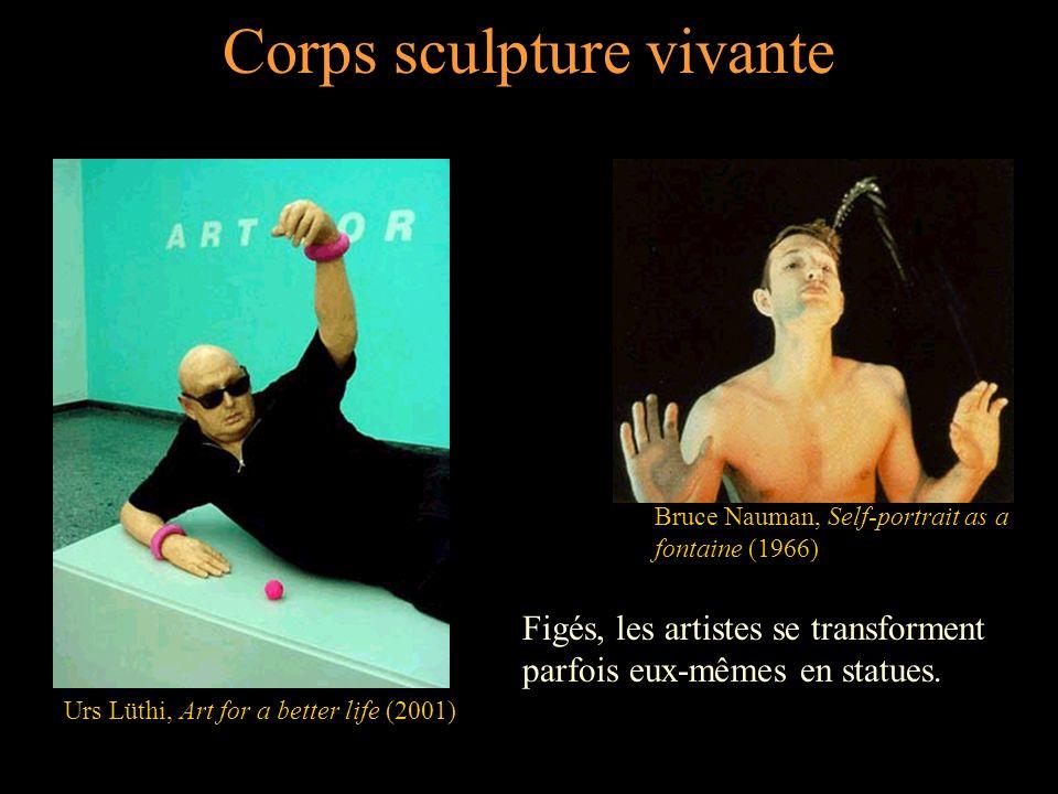 Corps sculpture vivante