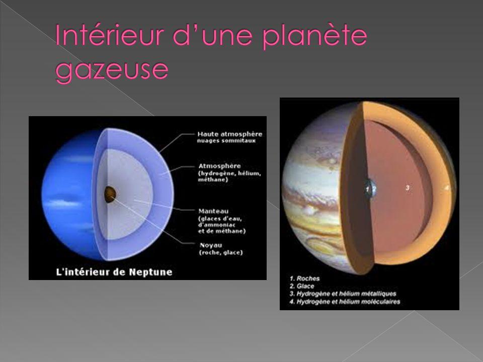 Intérieur d'une planète gazeuse