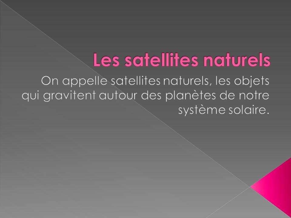 Les satellites naturels