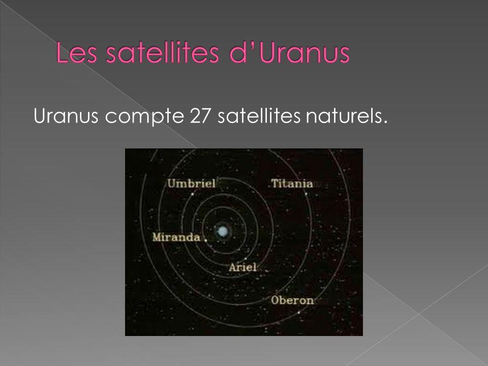 Les satellites d'Uranus