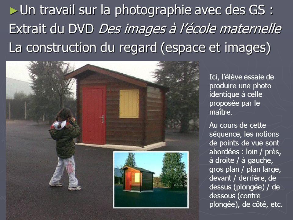 Un travail sur la photographie avec des GS :