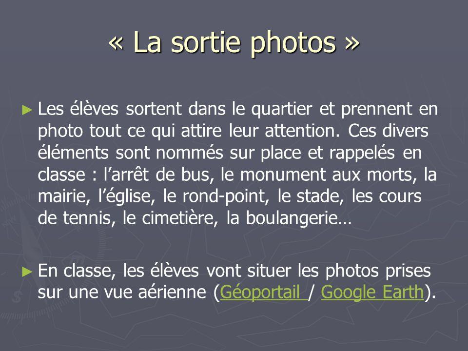 « La sortie photos »