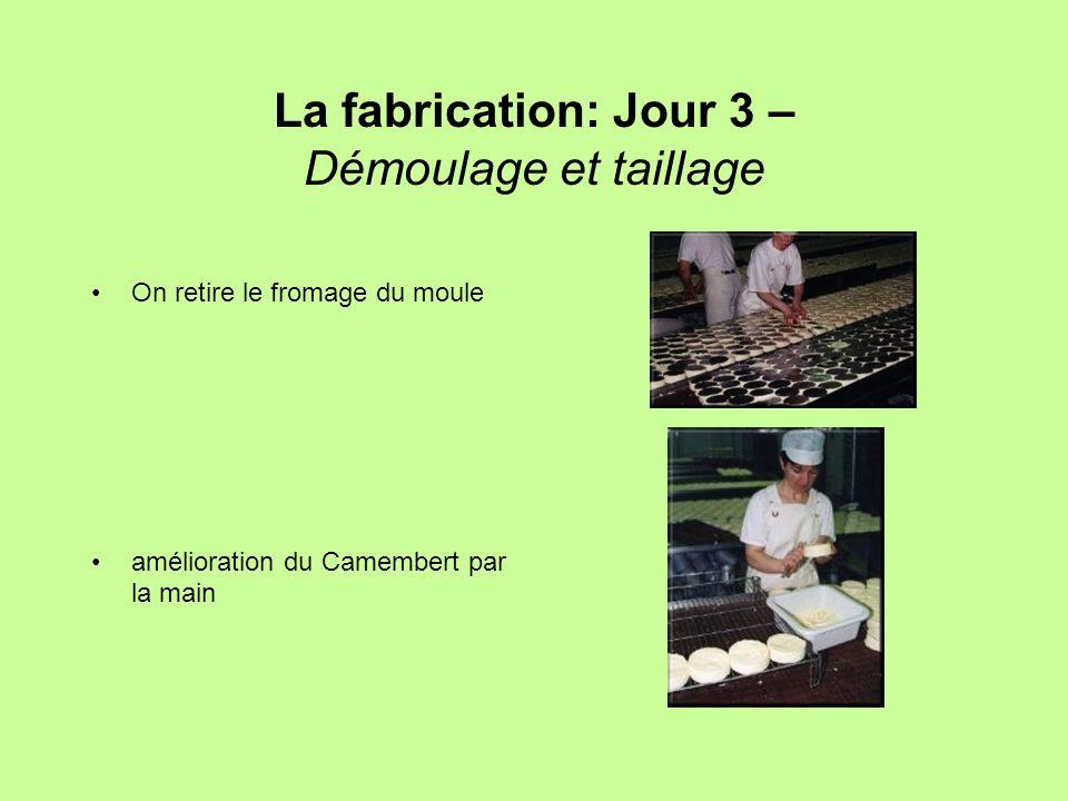 La fabrication: Jour 3 – Démoulage et taillage