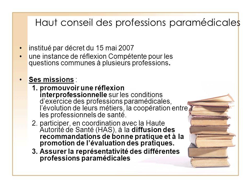 Haut conseil des professions paramédicales