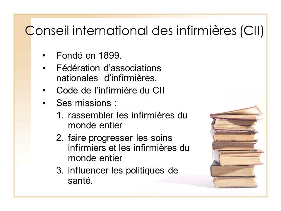 Conseil international des infirmières (CII)