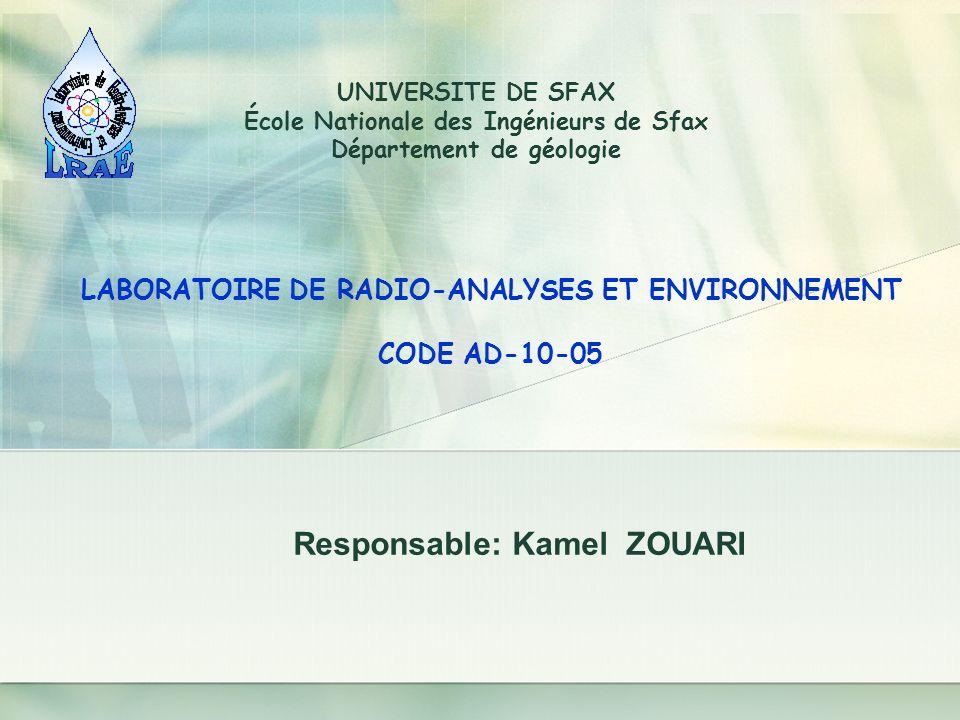 École Nationale des Ingénieurs de Sfax Département de géologie