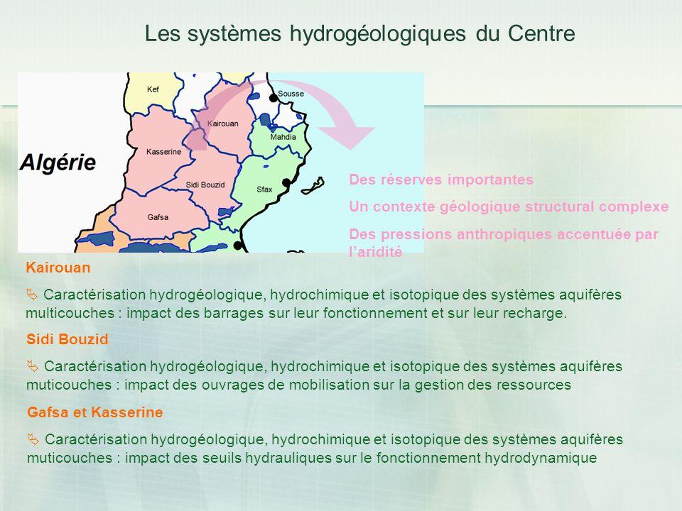 Les systèmes hydrogéologiques du Centre