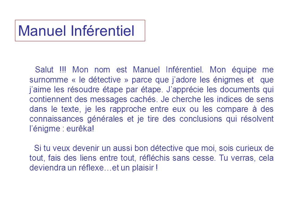 Manuel Inférentiel