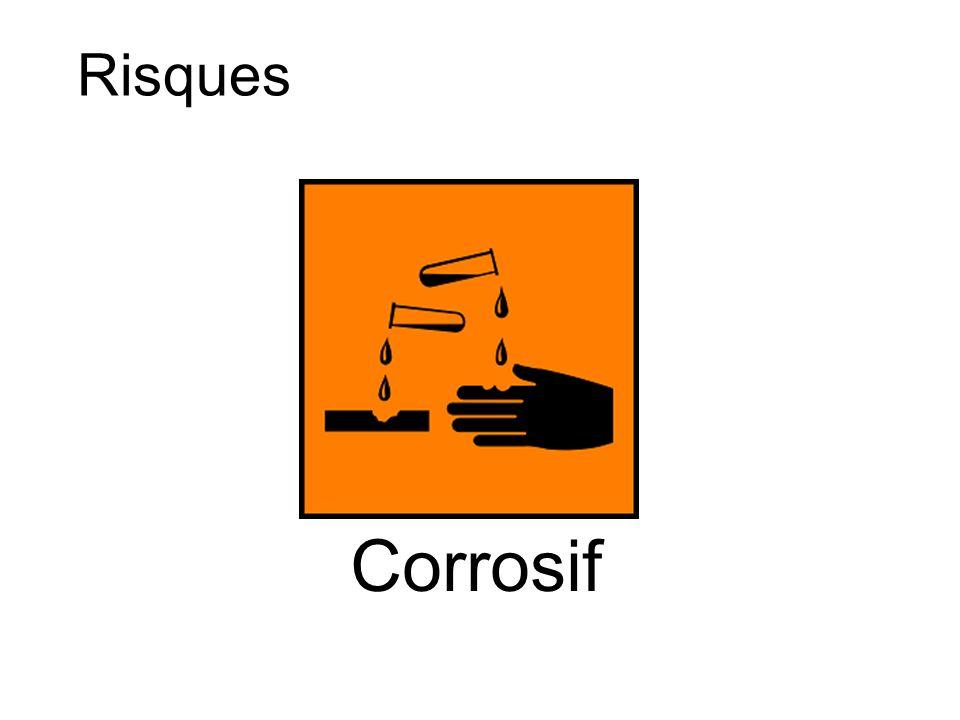 Risques Corrosif