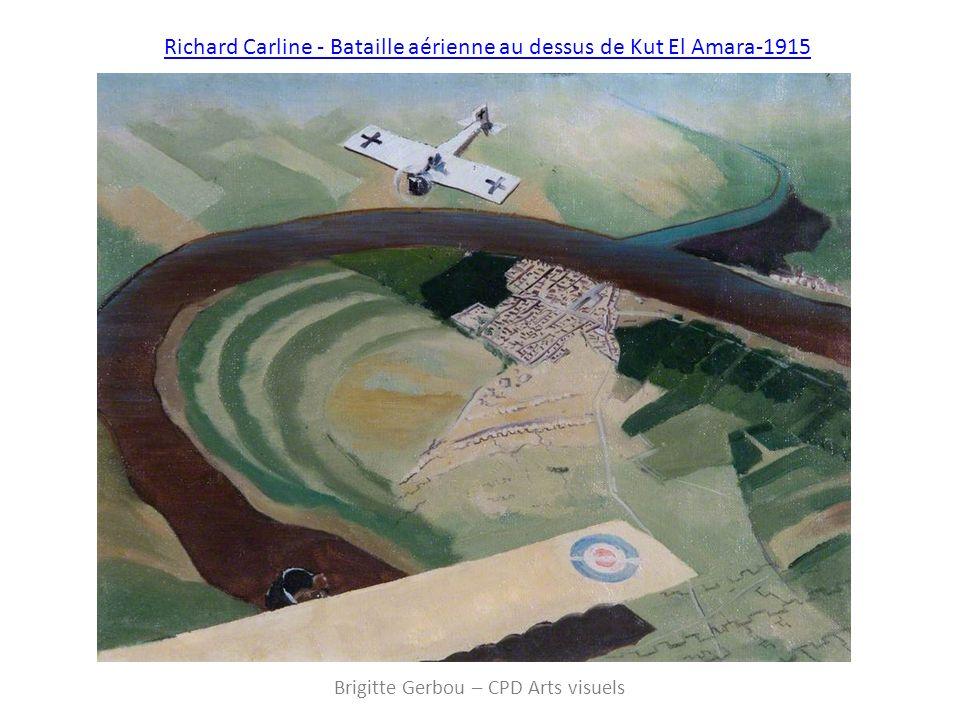 Richard Carline - Bataille aérienne au dessus de Kut El Amara-1915