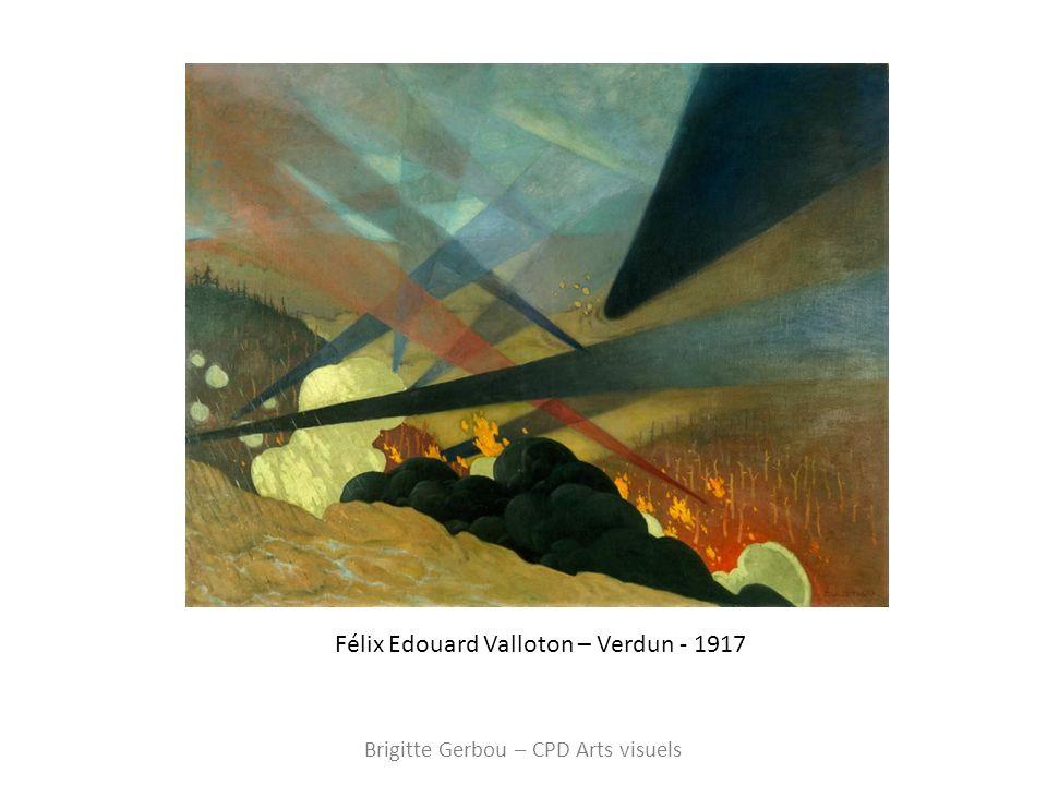 Félix Edouard Valloton – Verdun - 1917