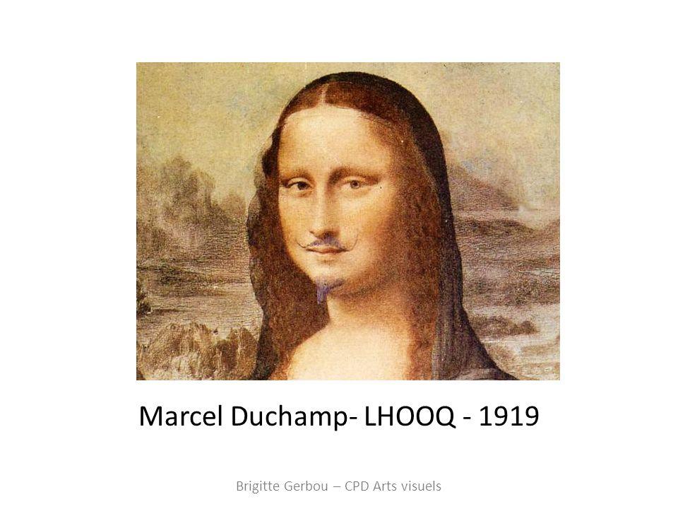Marcel Duchamp- LHOOQ - 1919