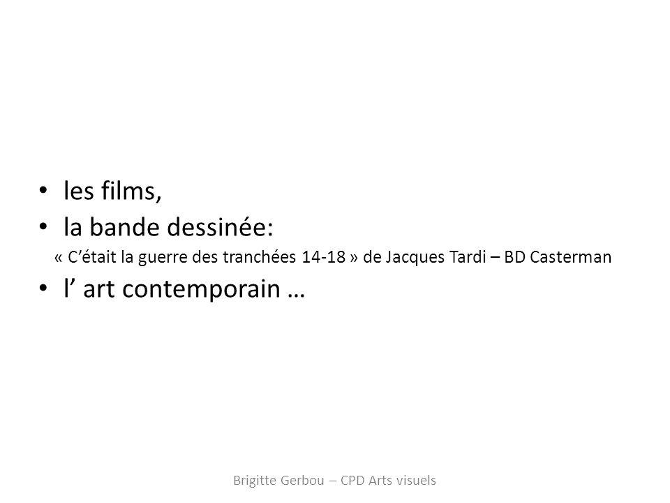 Brigitte Gerbou – CPD Arts visuels