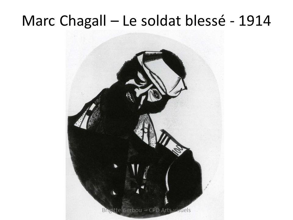 Marc Chagall – Le soldat blessé - 1914