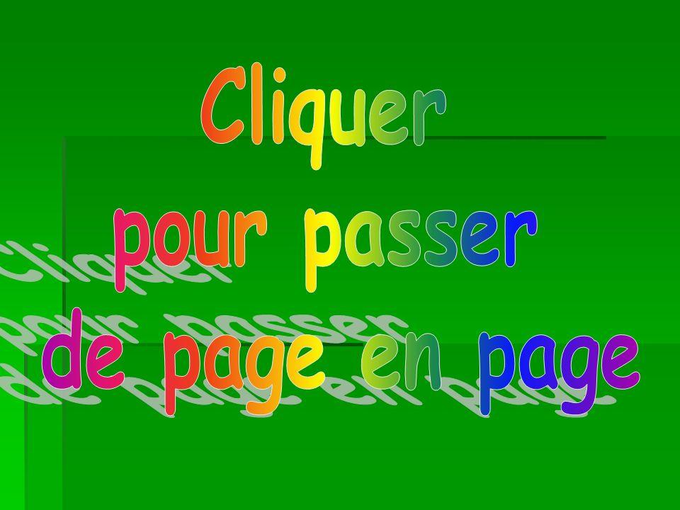 Cliquer pour passer de page en page