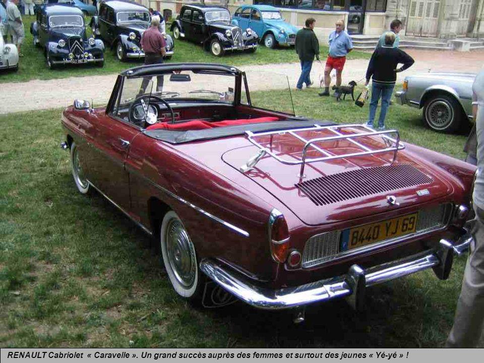 RENAULT Cabriolet « Caravelle »