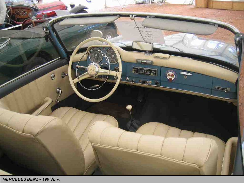 MERCEDES BENZ « 190 SL »,