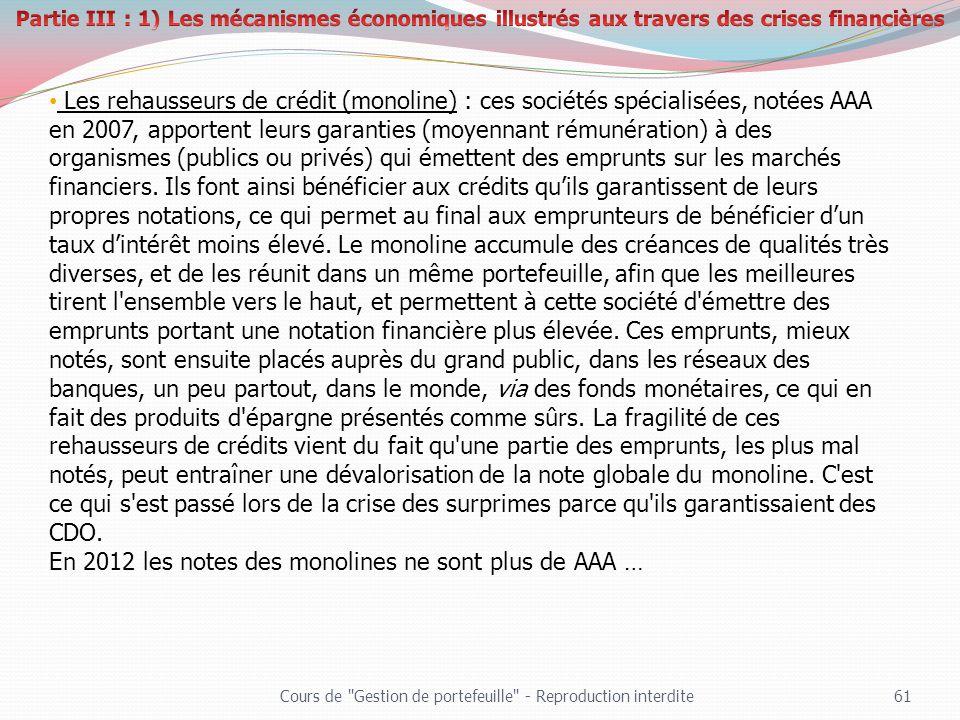 En 2012 les notes des monolines ne sont plus de AAA …