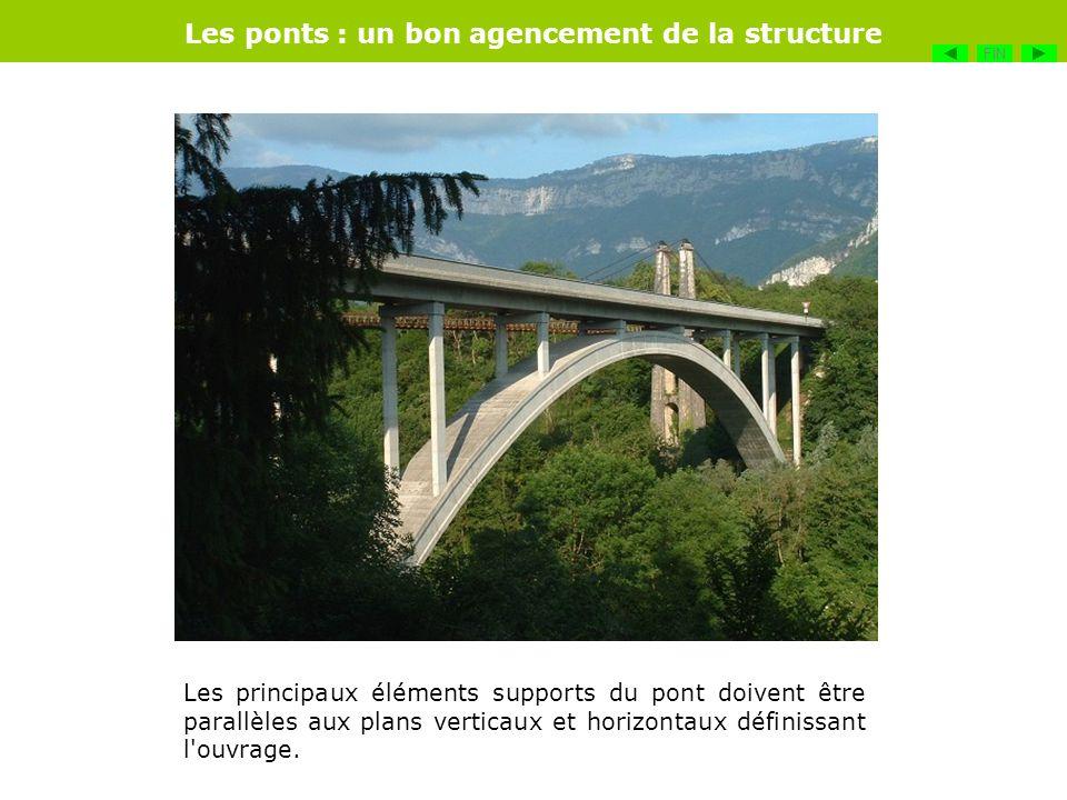 Les ponts : un bon agencement de la structure