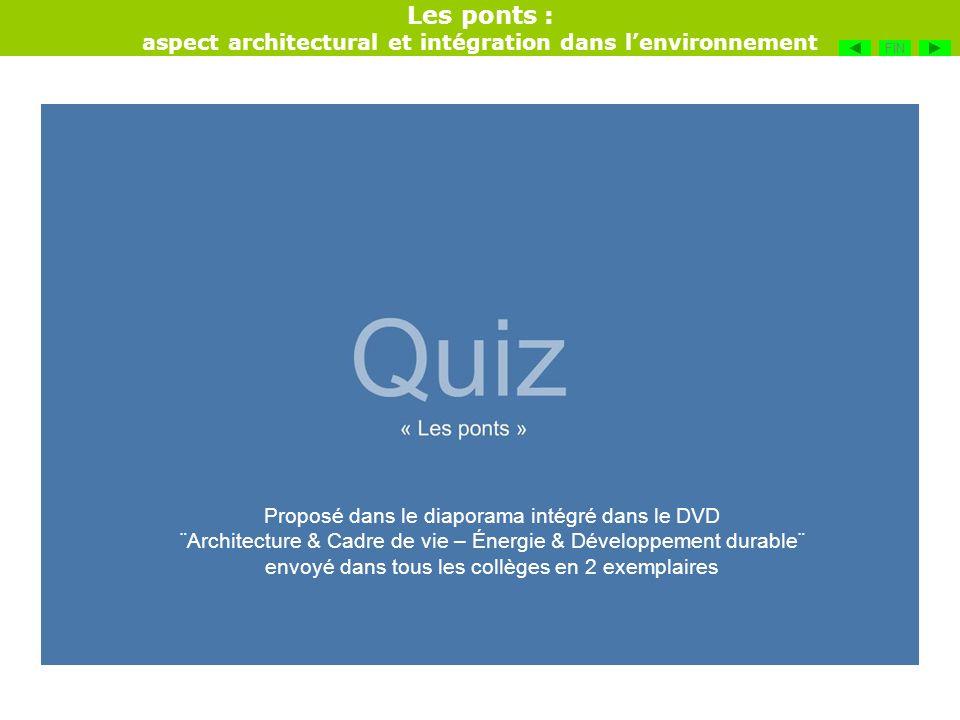 aspect architectural et intégration dans l'environnement