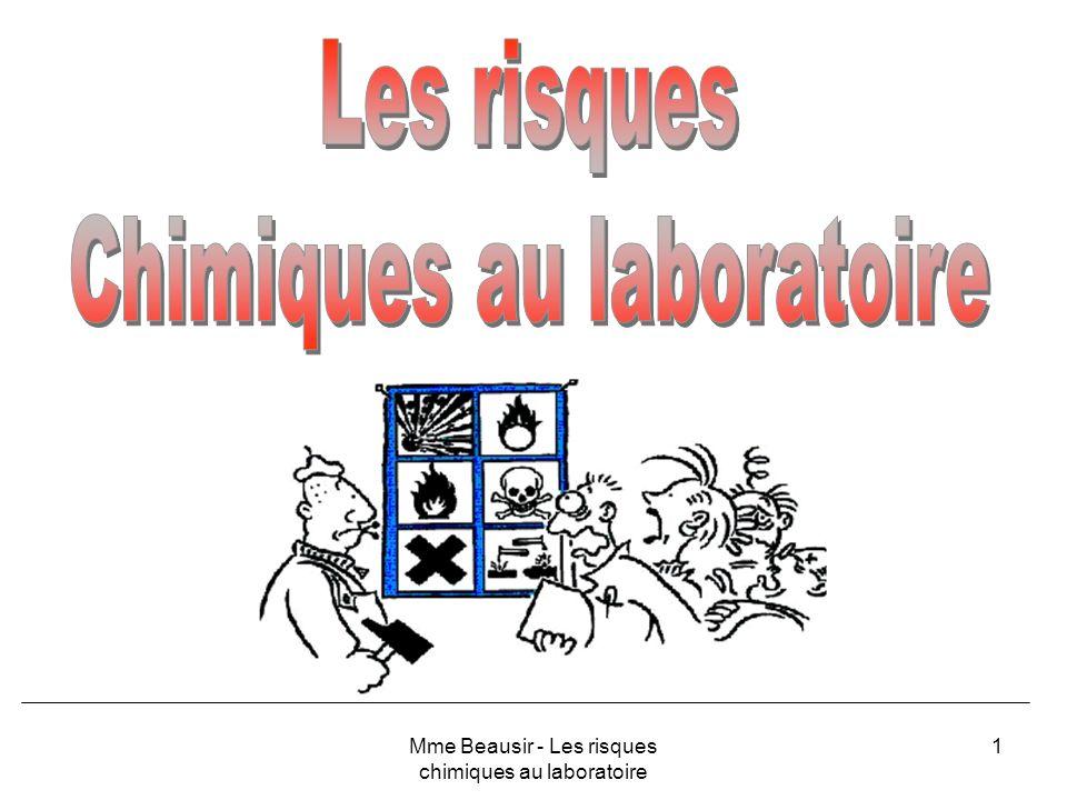 Chimiques au laboratoire