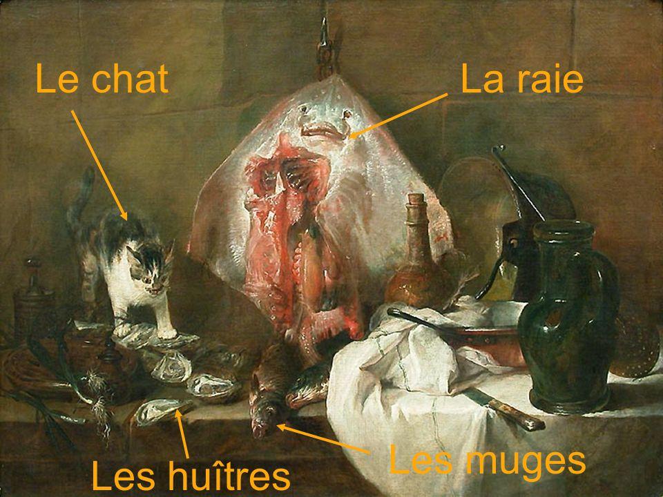 Le chat La raie Les muges Les huîtres
