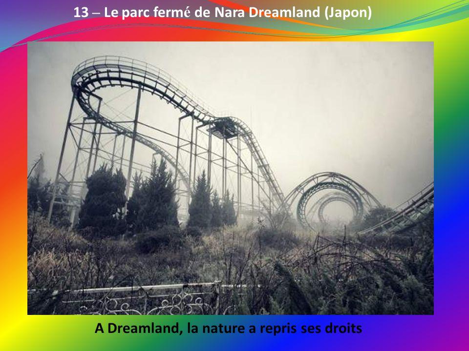 13 – Le parc fermé de Nara Dreamland (Japon)