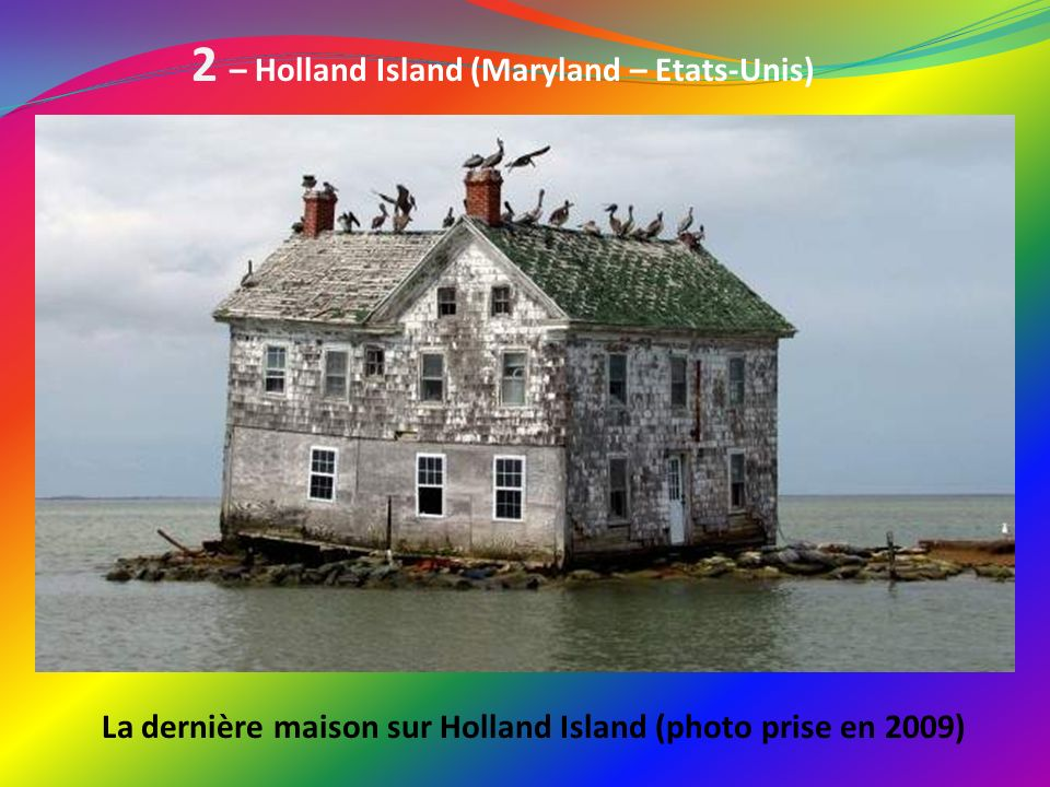 2 – Holland Island (Maryland – Etats-Unis)