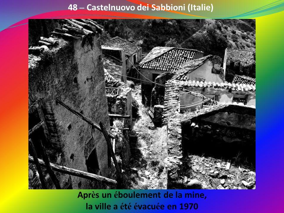 48 – Castelnuovo dei Sabbioni (Italie)