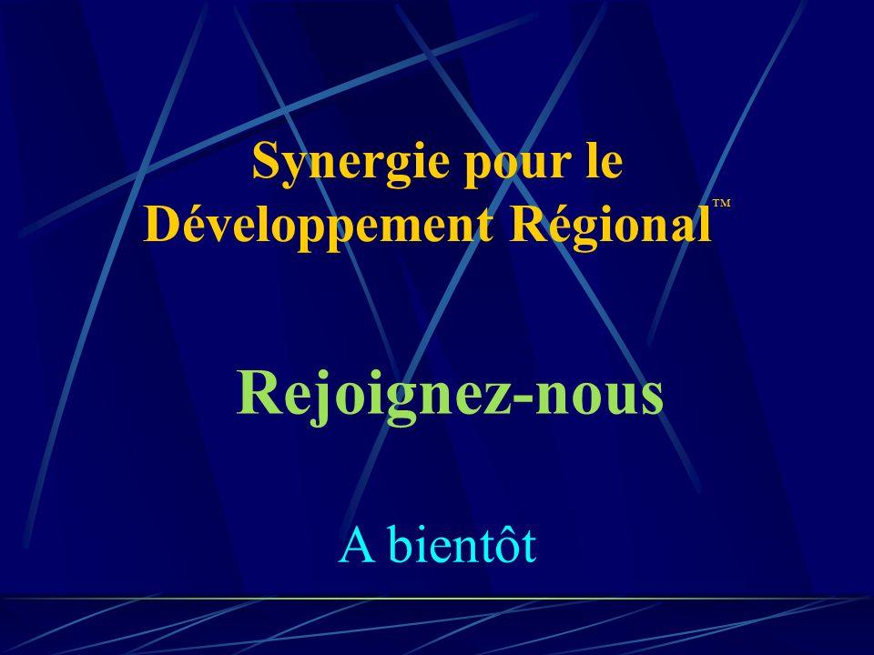 Synergie pour le Développement Régional™