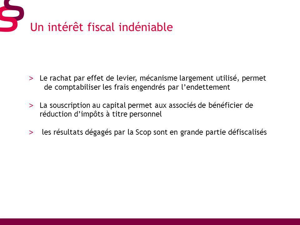Un intérêt fiscal indéniable