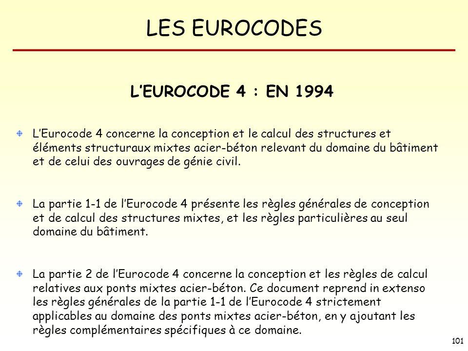 L'EUROCODE 4 : EN 1994