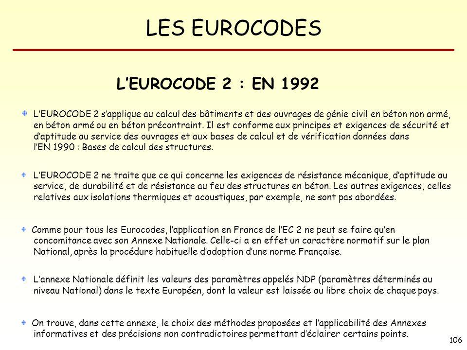 L'EUROCODE 2 : EN 1992