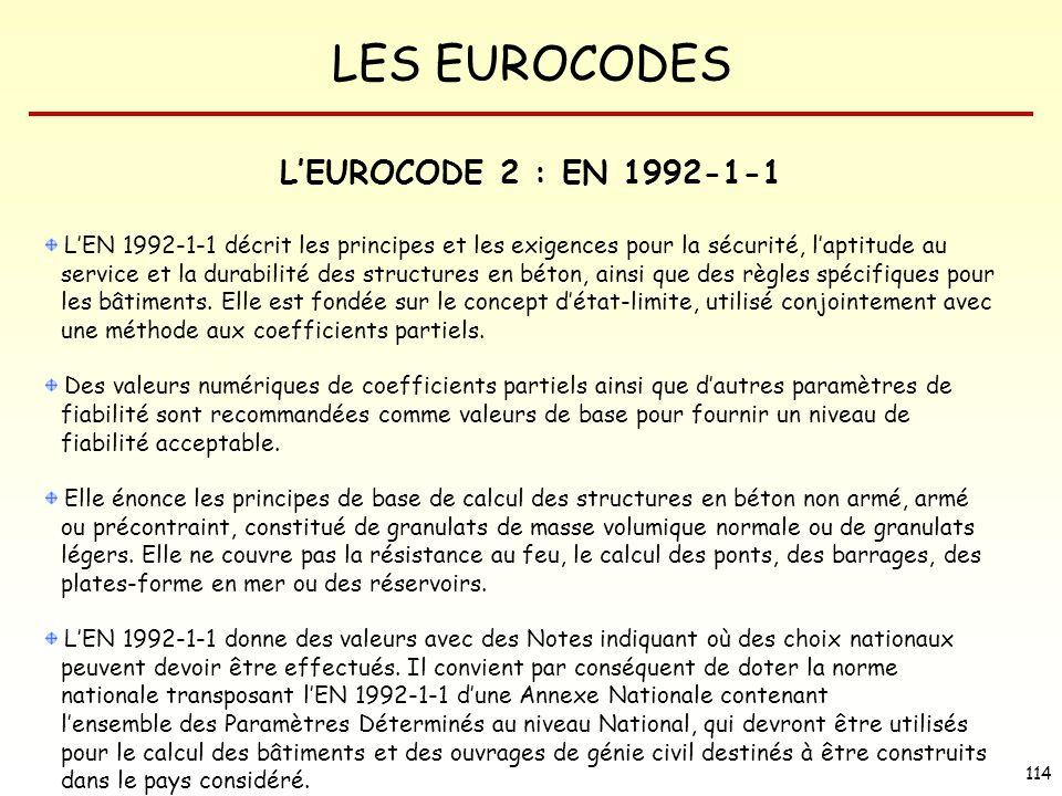 L'EUROCODE 2 : EN 1992-1-1