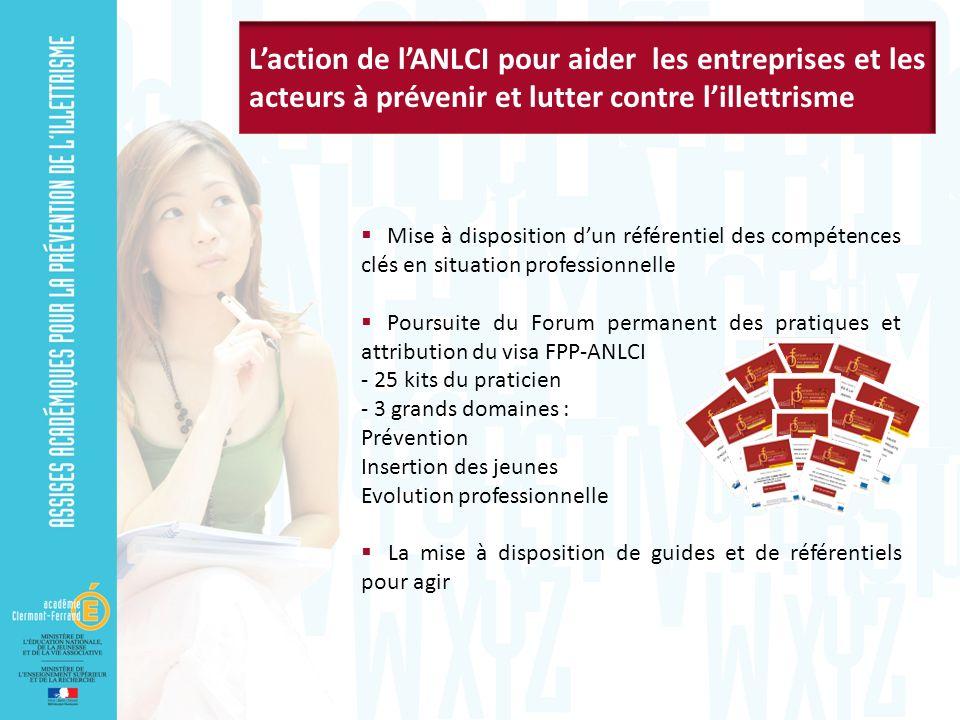 L'action de l'ANLCI pour aider les entreprises et les acteurs à prévenir et lutter contre l'illettrisme