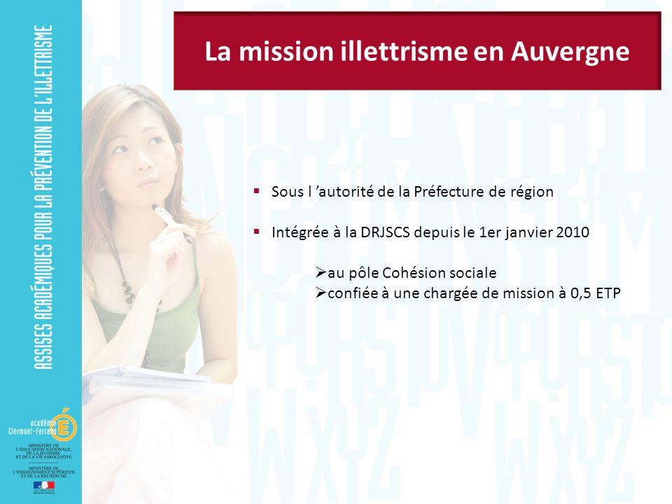 La mission illettrisme en Auvergne