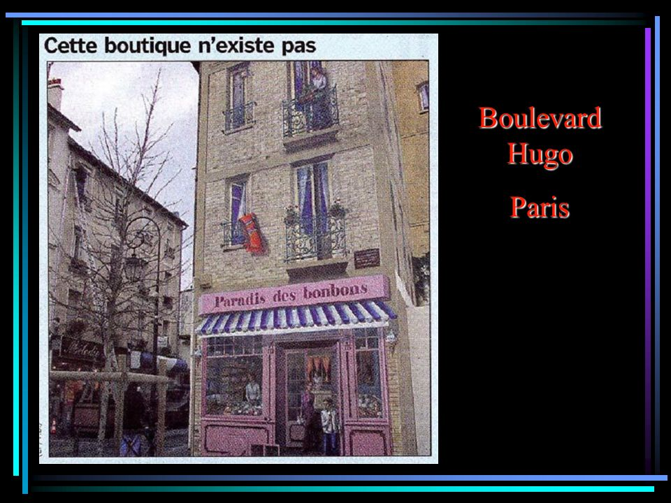 Boulevard Hugo Paris