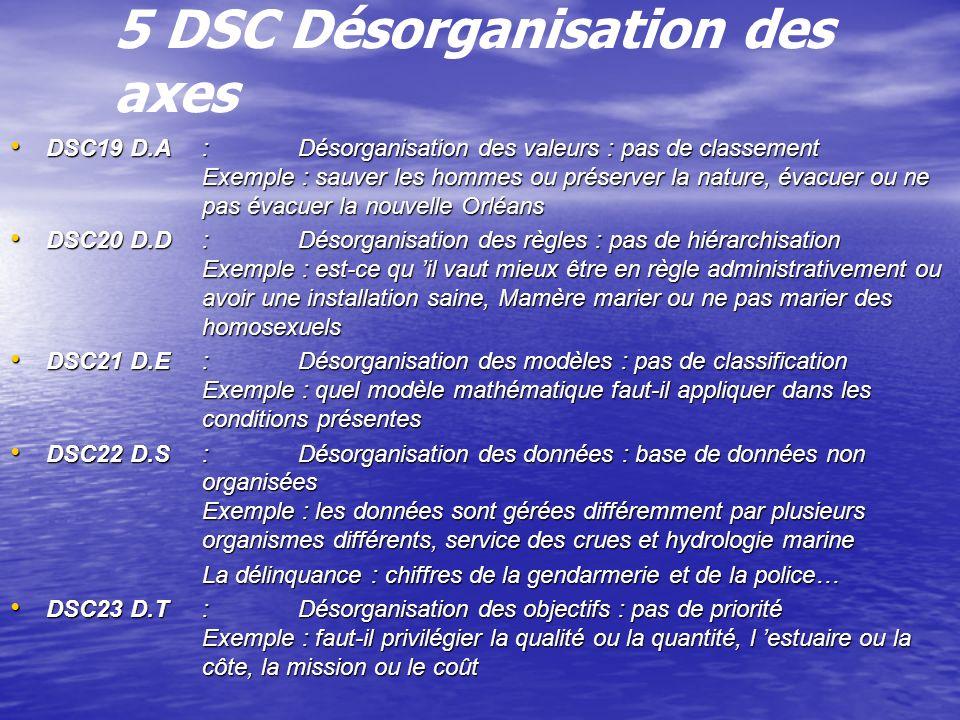 5 DSC Désorganisation des axes