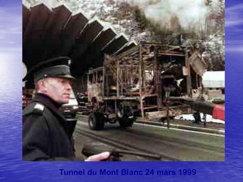 Tunnel du Mont Blanc 24 mars 1999