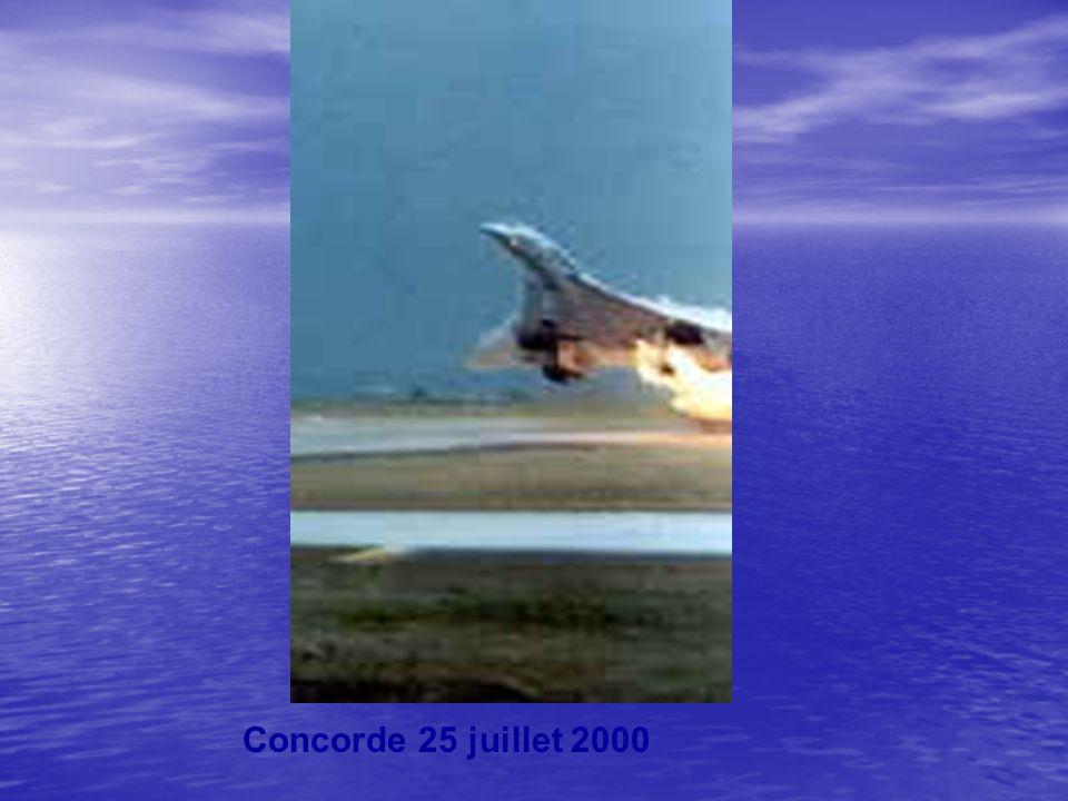 Concorde 25 juillet 2000
