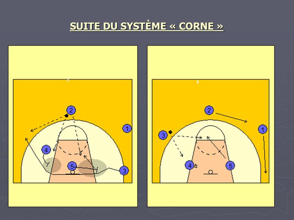 SUITE DU SYSTÈME « CORNE »
