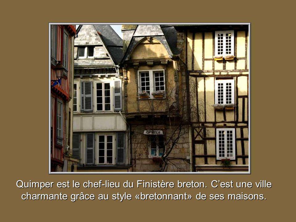 Quimper est le chef-lieu du Finistère breton
