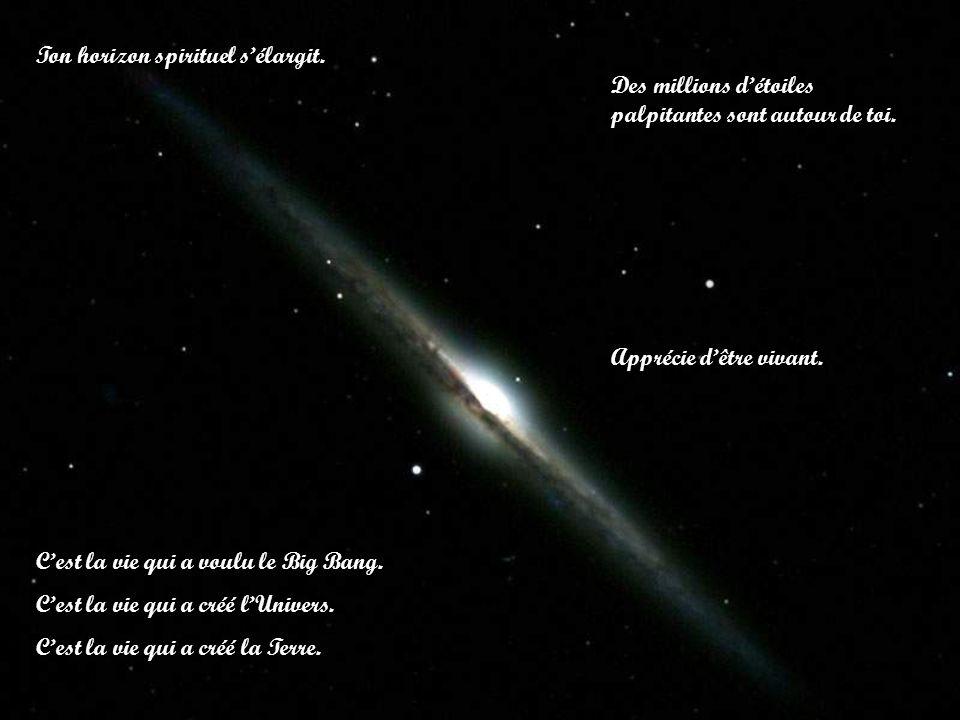 Ton horizon spirituel s'élargit.