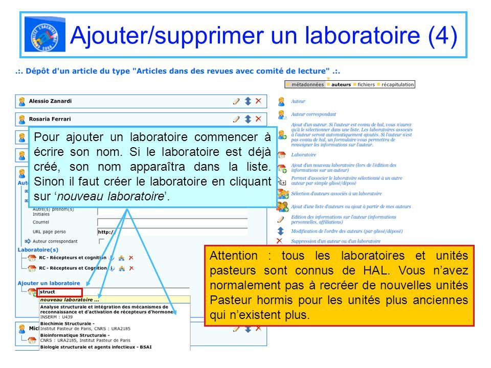 Ajouter/supprimer un laboratoire (4)