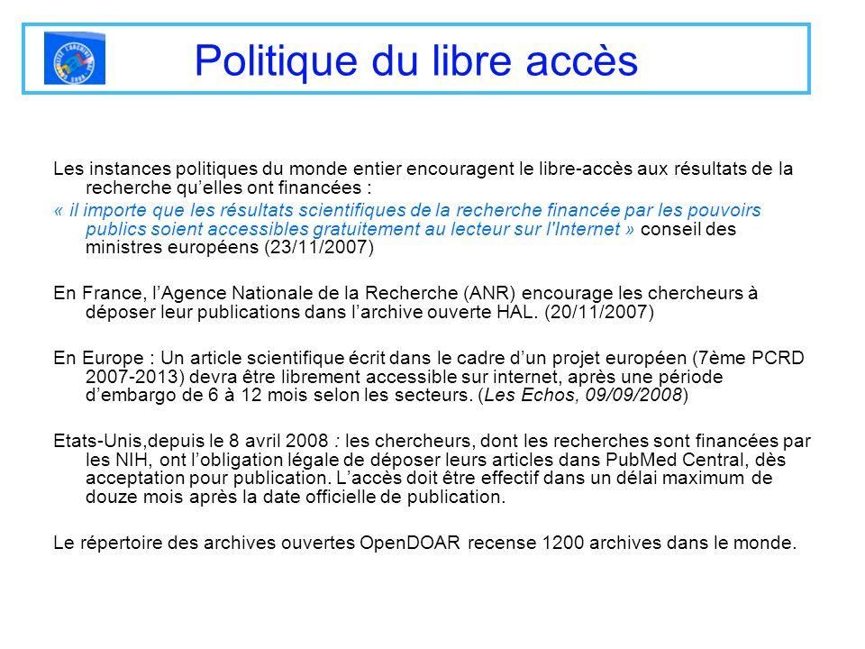 Politique du libre accès
