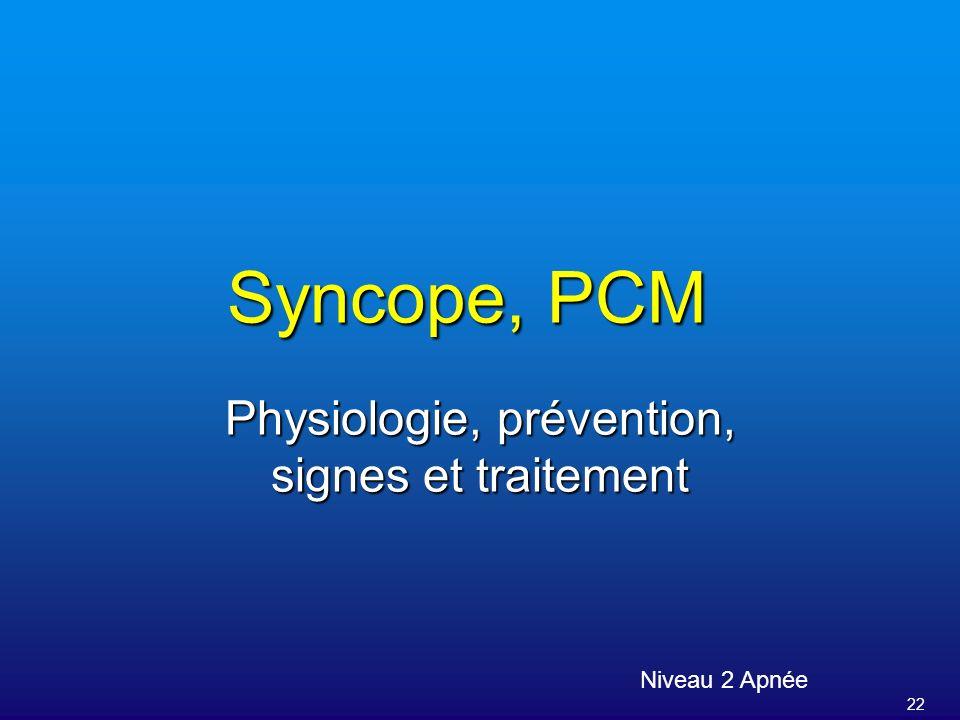 Physiologie, prévention, signes et traitement